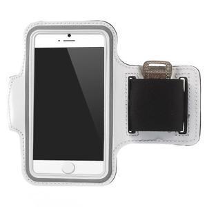 Gymfit športové puzdro pre telefón do 125 x 60 mm - biele - 1