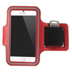 Gymfit športové puzdro pre telefón do 125 x 60 mm - červené - 1