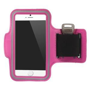 Gymfit športové puzdro pre telefón do 125 x 60 mm - rose - 1