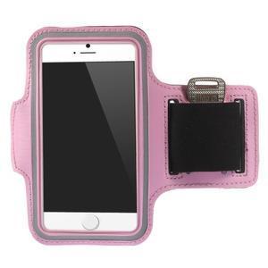 Gymfit športové puzdro pre telefón do 125 x 60 mm - ružové - 1