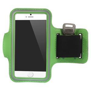 Gymfit športové puzdro pre telefón do 125 x 60 mm - zelené - 1