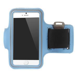 Gymfit športové puzdro pre telefón do 125 x 60 mm - svetlomodré - 1
