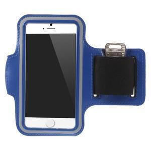 Gymfit športové puzdro pre telefón do 125 x 60 mm - tmavomodré - 1