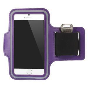 Gymfit športové puzdro pre telefón do 125 x 60 mm - fialové - 1