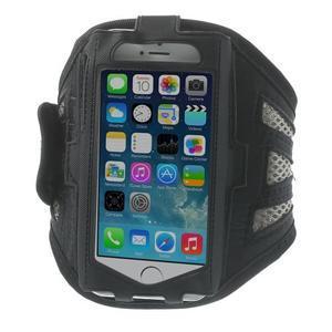 Absorb športové puzdro na telefón do veľkosti 125 x 60 mm - šedé - 1