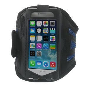 Absorb športové puzdro na telefón do veľkosti 125 x 60 mm -  modré - 1