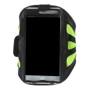 Fit puzdro na mobil až do veľkosti 160 x 85 mm - zelené - 1