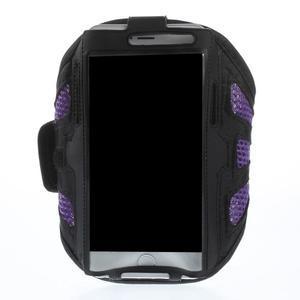 Fit puzdro na mobil až do veľkosti 160 x 85 mm - fialové - 1