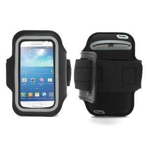 Čierne puzdro na ruku do veľkosti mobilu 125 x 61 mm - 1