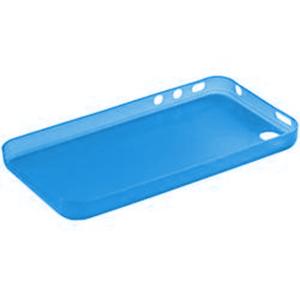 Gélové matné puzdro na Apple iPhone 4, 4S- modré