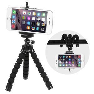 Trojnožkový stativ pre mobilní telefony - čierny - 1