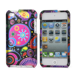 Plastové puzdro na iPod Touch 4 - farebné vzory - 1
