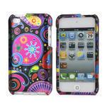 Plastové puzdro na iPod Touch 4 - farebné vzory - 1/4