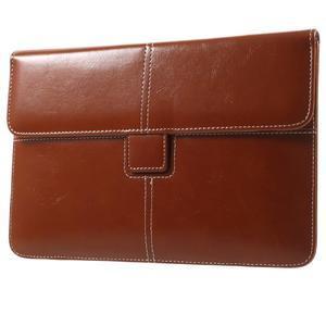 Business univerzálne puzdro pre tablet do rozmerov 226 x 149 mm - hnedé - 1