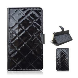 Luxury univerzální pouzdro na mobil do 148 x 76 x 21 mm - černé - 1