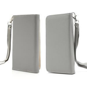 Softy univerzálne puzdro pre mobil do 137 × 71 × 8,6 mm - šedé - 1