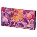 Kvetinová univerzálna kapsička na mobil do rozmerov 13,2 x 6,5 cm - rose - 1/2