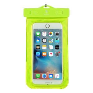 Base IPX8 vodotěsný obal na mobil do 158 x 78 mm - zelený - 1