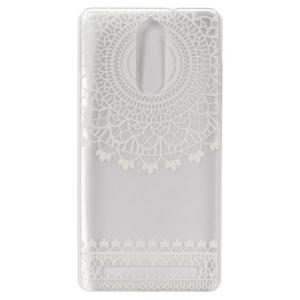 Gelový obal na mobil Lenovo K5 Note - krajky - 2