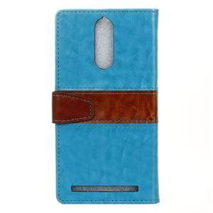 Colory knížkové puzdro pre Lenovo K5 Note - modré - 2