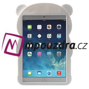 3D silikónové puzdro pre iPad mini 2 - čierná panda - 2