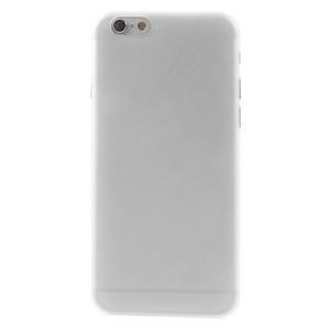 Ultra slim 0.3 mm plastové puzdro na iPhone 6, 4.7  - transparentný - 2