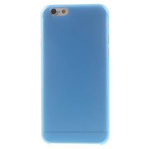 Ultra slim 0.3 mm plastové puzdro pre iPhone 6, 4.7  - modré - 2