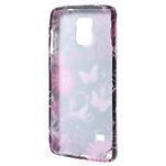 Gélové puzdro pre Samsung Galaxy Note 4- farebné motýle - 2/3