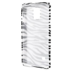 Gélové puzdro pre Samsung Galaxy Note 4- zebrované - 2