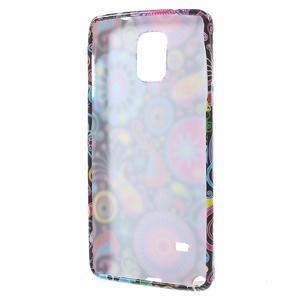 Gélové puzdro pre Samsung Galaxy Note 4- farebné vzory - 2