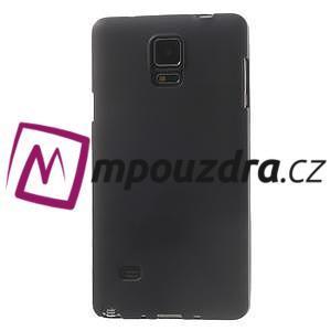 Gélové puzdro pre Samsung Galaxy Note 4- čierné - 2