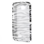 Gélové puzdro na LG L65 D280 - bílá zebra - 2/5