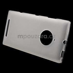 Gélové matné puzdro na Nokia Lumia 830 - transparentný - 2