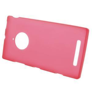 Gélové matné puzdro na Nokia Lumia 830 - červené - 2