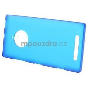 Gélové matné puzdro na Nokia Lumia 830 - modré - 2