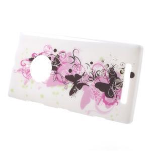 Gélové puzdro na Nokia Lumia 830 - kvet motýľa - 2