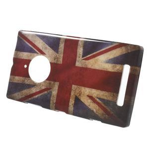 Gélové puzdro na Nokia Lumia 830 - UK vlajka - 2
