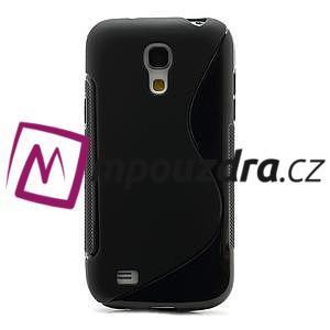 Gelové S-line pouzdro pro Samsung Galaxy S4 mini i9190, i9192, GT-i9195 - černé - 2