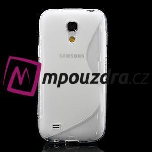 Gelové S-line pouzdro pro Samsung Galaxy S4 mini i9190, i9192, GT-i9195 - transparentní - 2