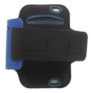 BaseRunning puzdro na ruku pre telefony do 125*60 mm - modré - 2