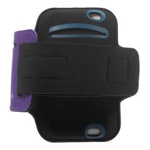 BaseRunning puzdro na ruku pre telefony do 125*60 mm - fialové - 2