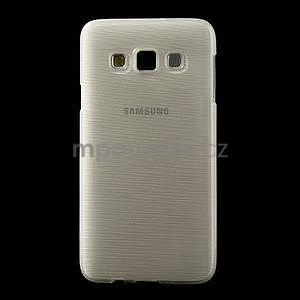 Broušené puzdro pre Samsung Galaxy A3 - bílá - 2