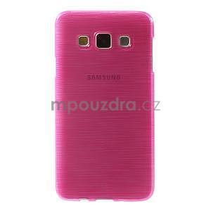 Broušené puzdro na Samsung Galaxy A3 - rose - 2