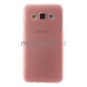 Broušené puzdro na Samsung Galaxy A3 - ružová - 2