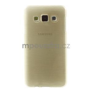 Broušené puzdro na Samsung Galaxy A3 - zlatá - 2
