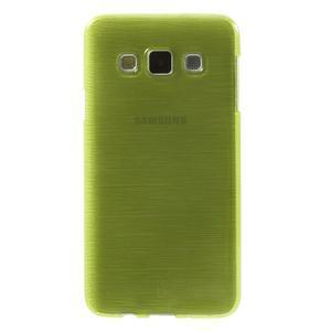 Broušené puzdro pre Samsung Galaxy A3 - zelená - 2
