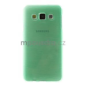 Broušené puzdro pre Samsung Galaxy A3    - svetlo zelená - 2