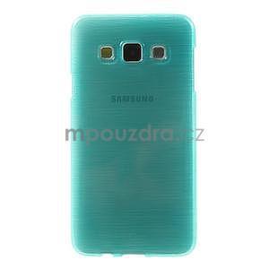 Broušené puzdro pre Samsung Galaxy A3 - tyrkysová - 2
