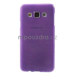 Broušené puzdro na Samsung Galaxy A3 - fialová - 2