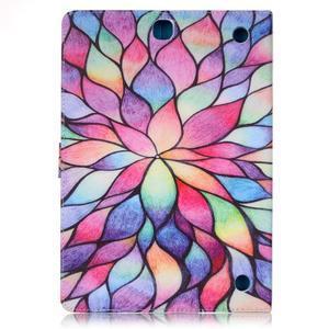 Emotive puzdro pre tablet Samsung Galaxy Tab A 9.7 - malované kvety - 2